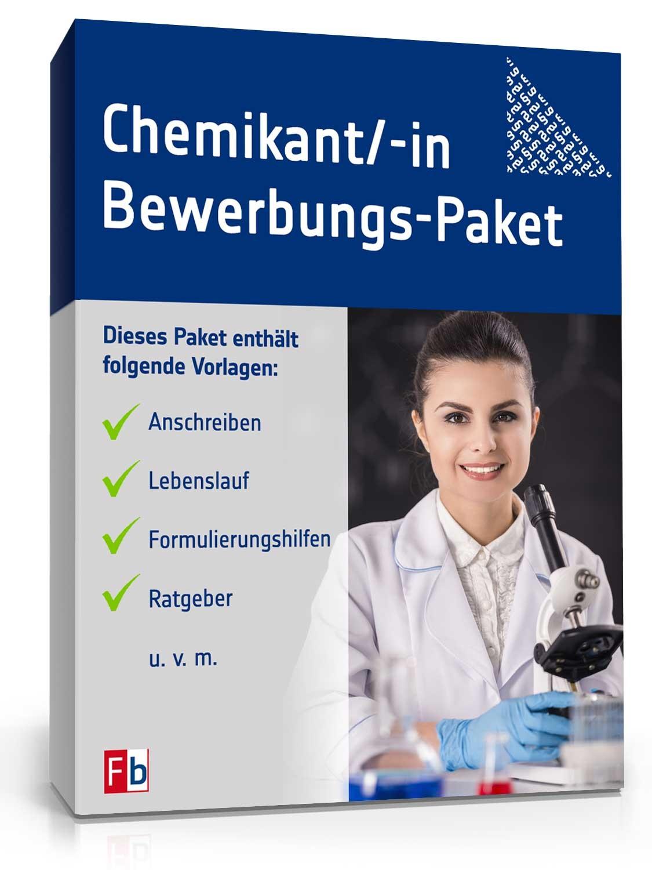 bewerbungs paket chemikant - Bewerbung Chemikant