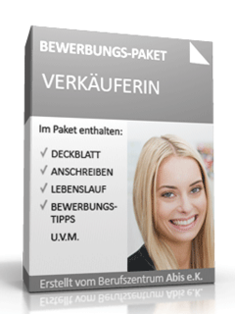 Bewerbungs Mappe Verkäuferin Muster Zum Download