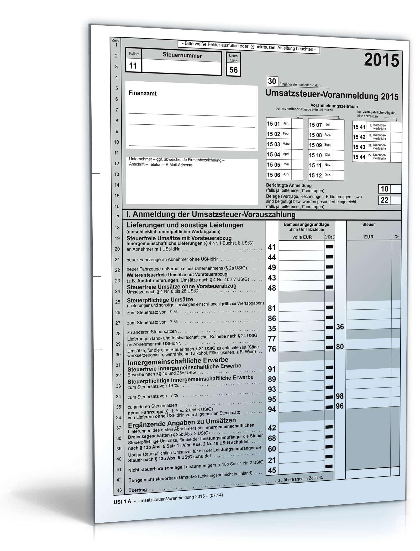 elster steuererklärung 2015 mac