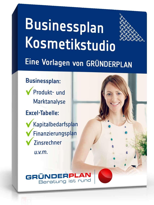 Businessplan Kosmetikstudio von Gründerplan   Muster zum Download