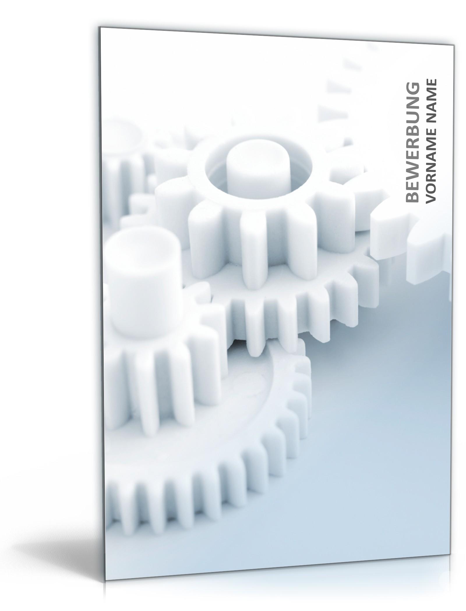 PowerPoint Vorlage Kreative Bewerbung Ingenieur - Vorlage zum Download