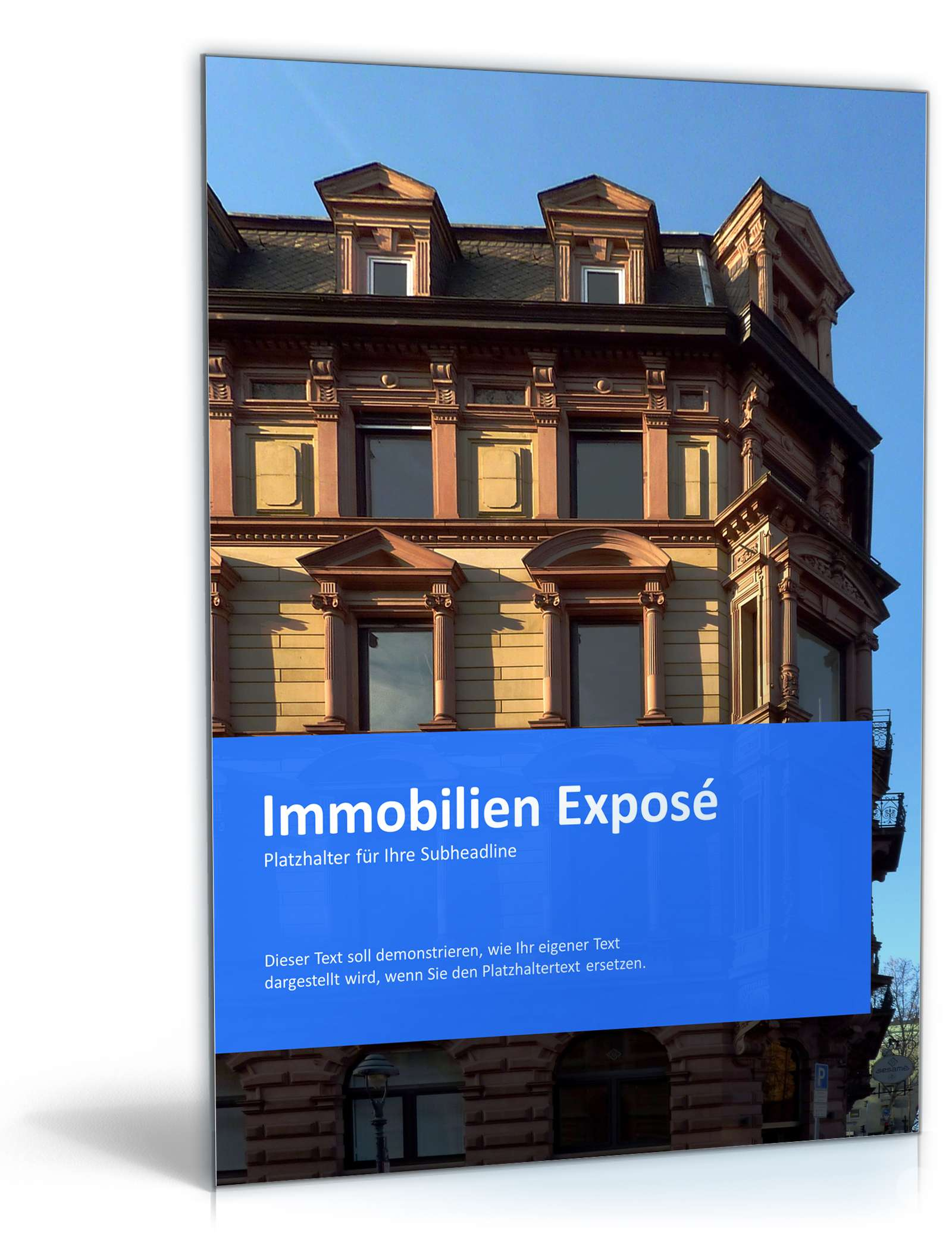 PowerPoint Vorlage Immobilien Exposé   Vorlage zum Download