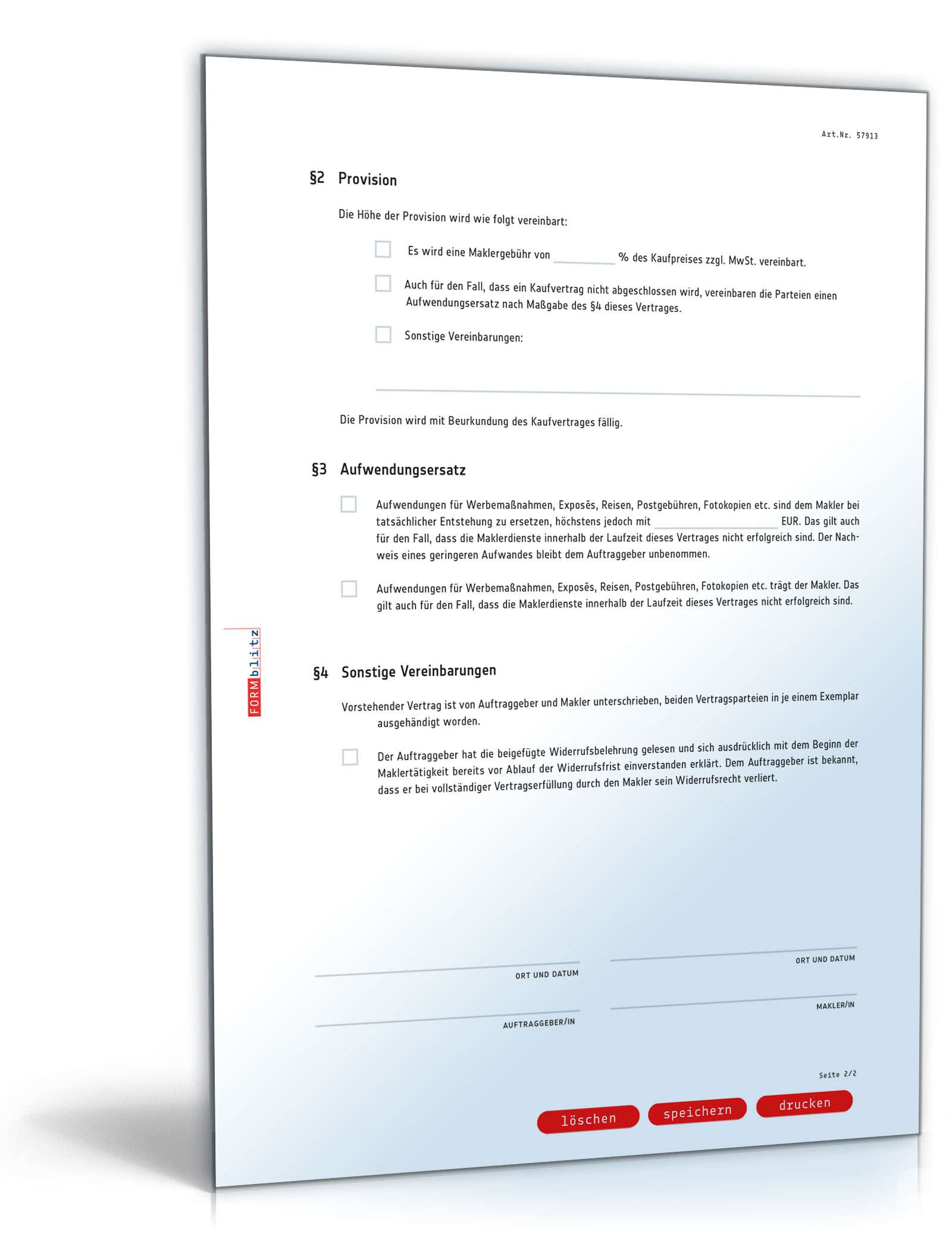 pdf seite 03 - Provisionsvereinbarung Muster