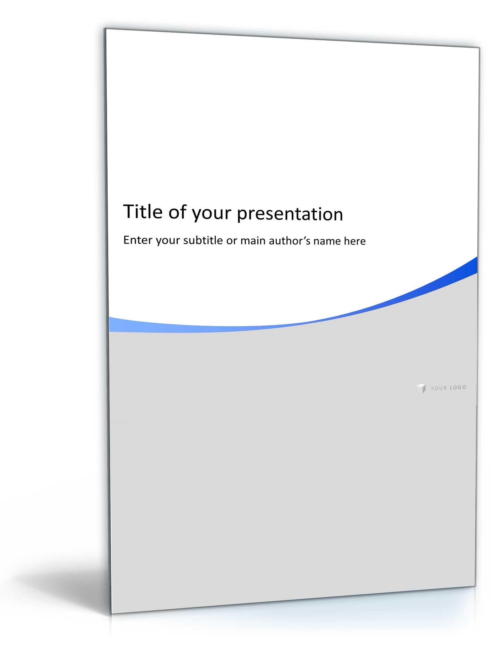 PowerPoint Präsentation (Neutral)   Vorlage zum Download
