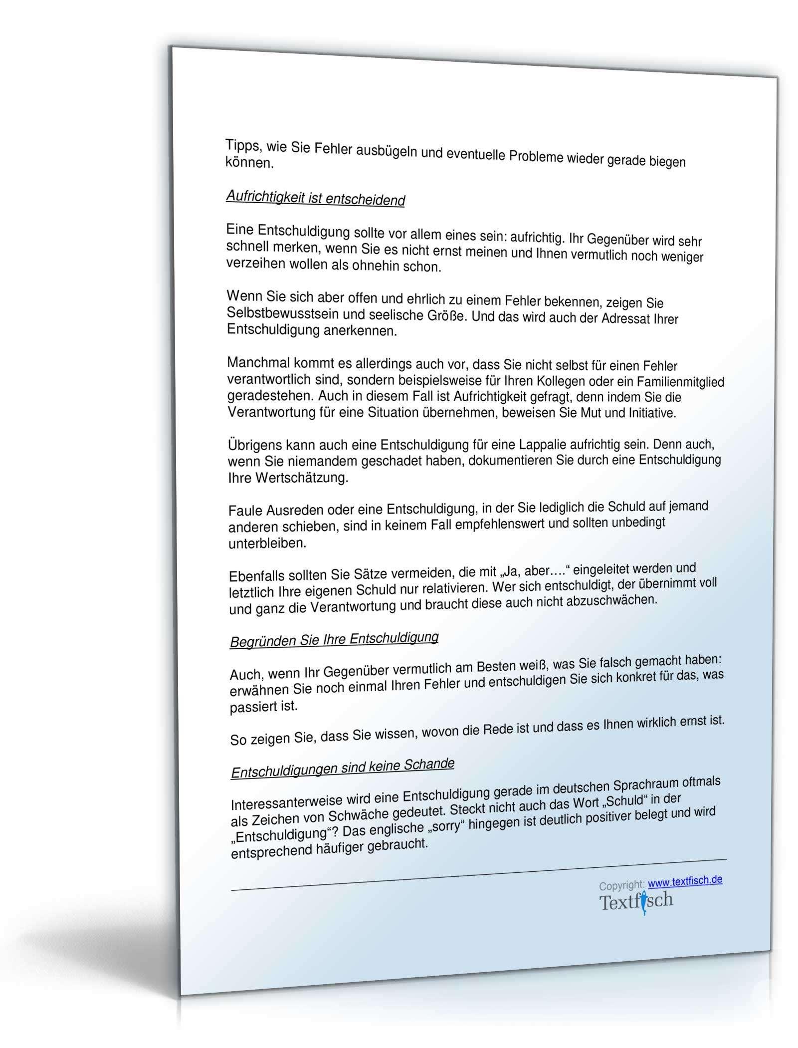 Entschuldigung Schule familiäre Angelegenheiten | Muster zum Download