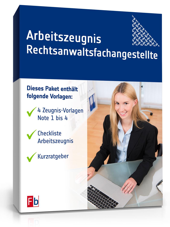 Muster Arbeitszeugnis Rechtsanwaltsfachangestellte Zum Download
