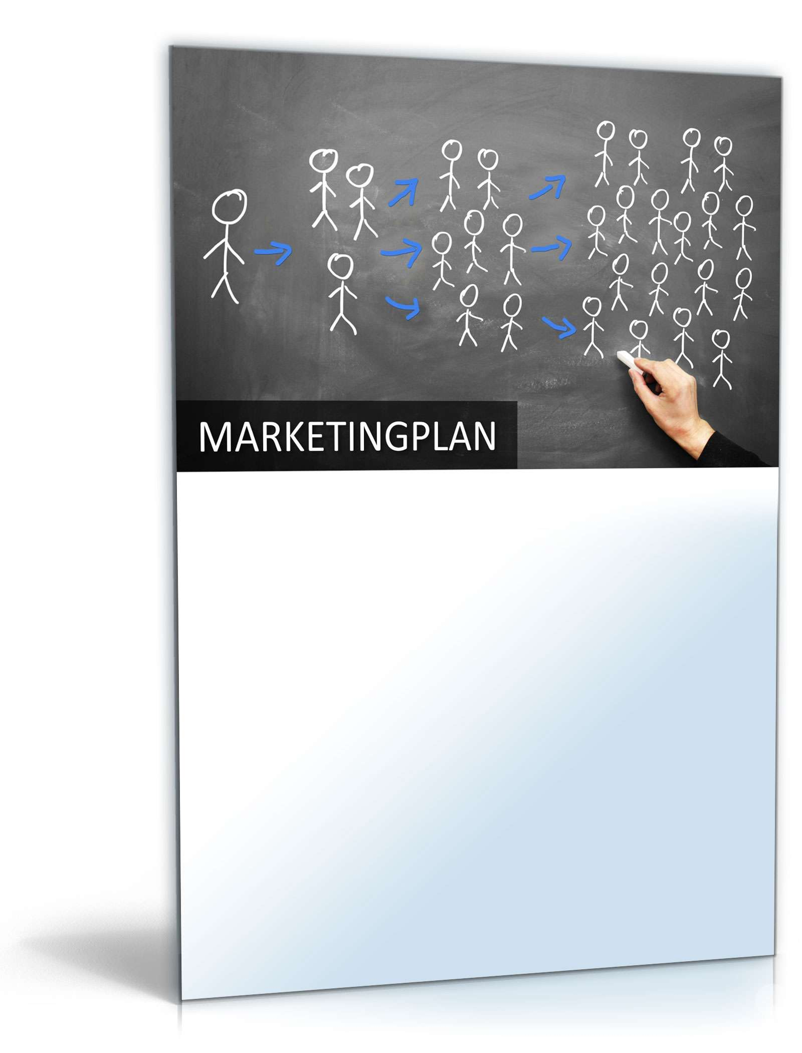 PowerPoint Präsentation Marketing-Plan: Vorlage zum Download