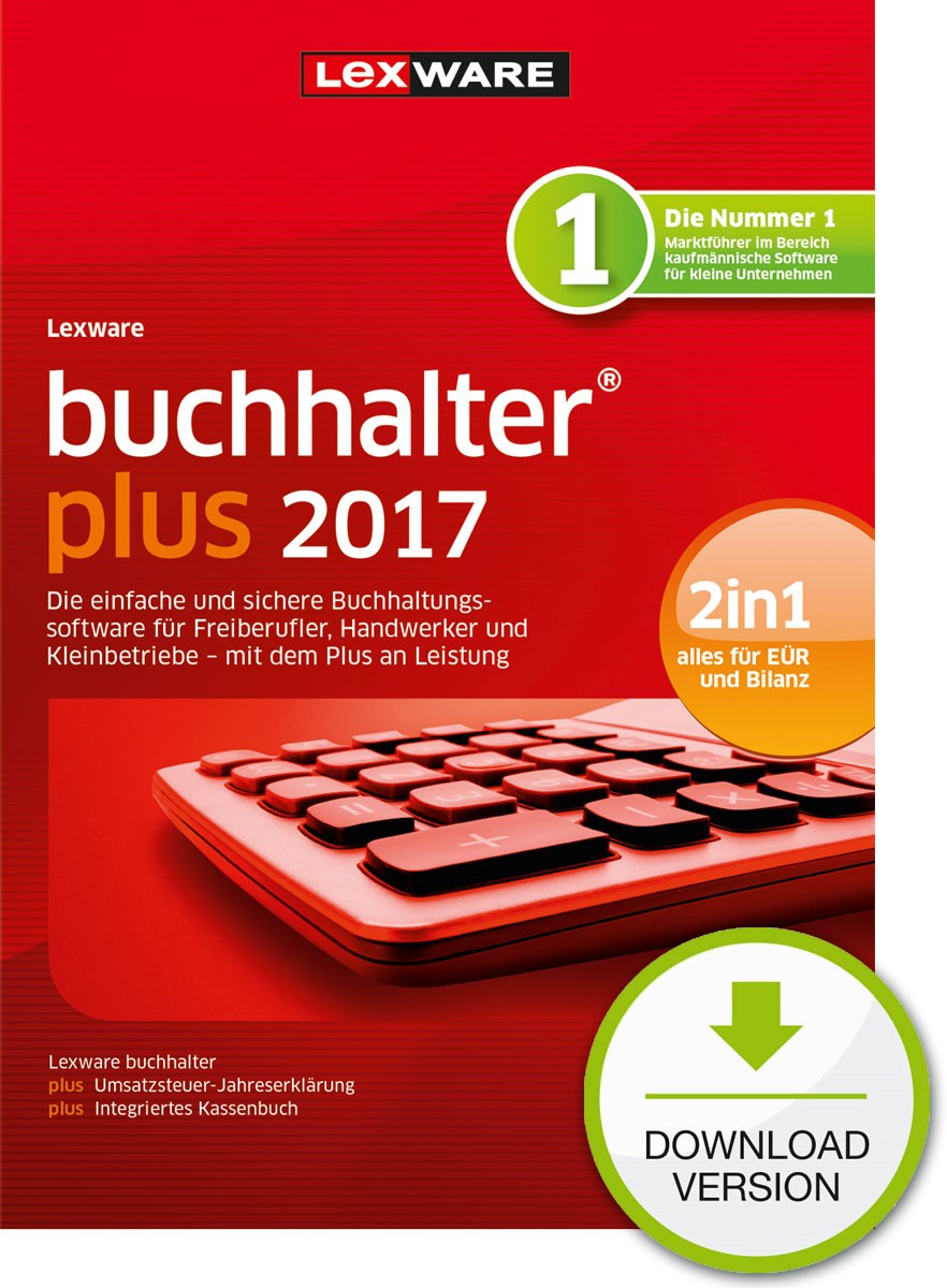 Lexware buchhalter plus 2017 Dokument zum Download