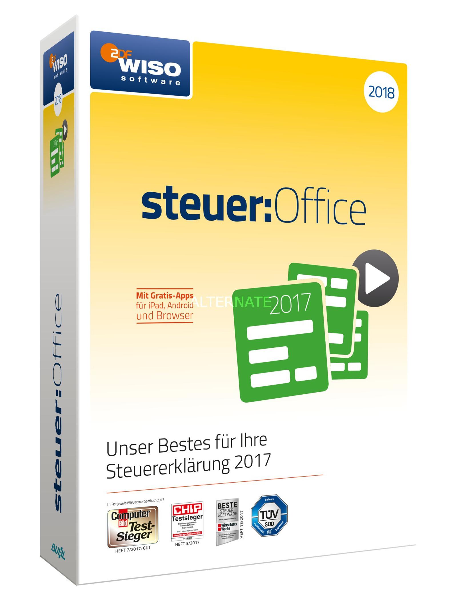 Buhl WISO steuer:Office 2018 (PC, Win)