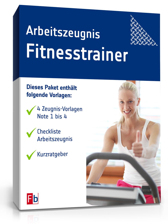 Arbeitszeugnis Fitnesstrainer