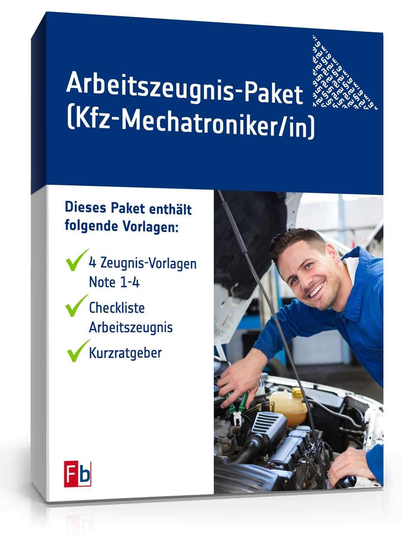Arbeitszeugnis Kfz-Mechatroniker: Muster zum Sofort-Download