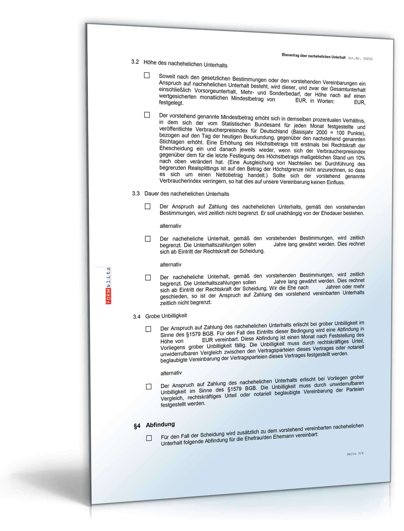 Großartig Vereinbarung Vorlage Zu Bezahlen Galerie - Entry Level ...