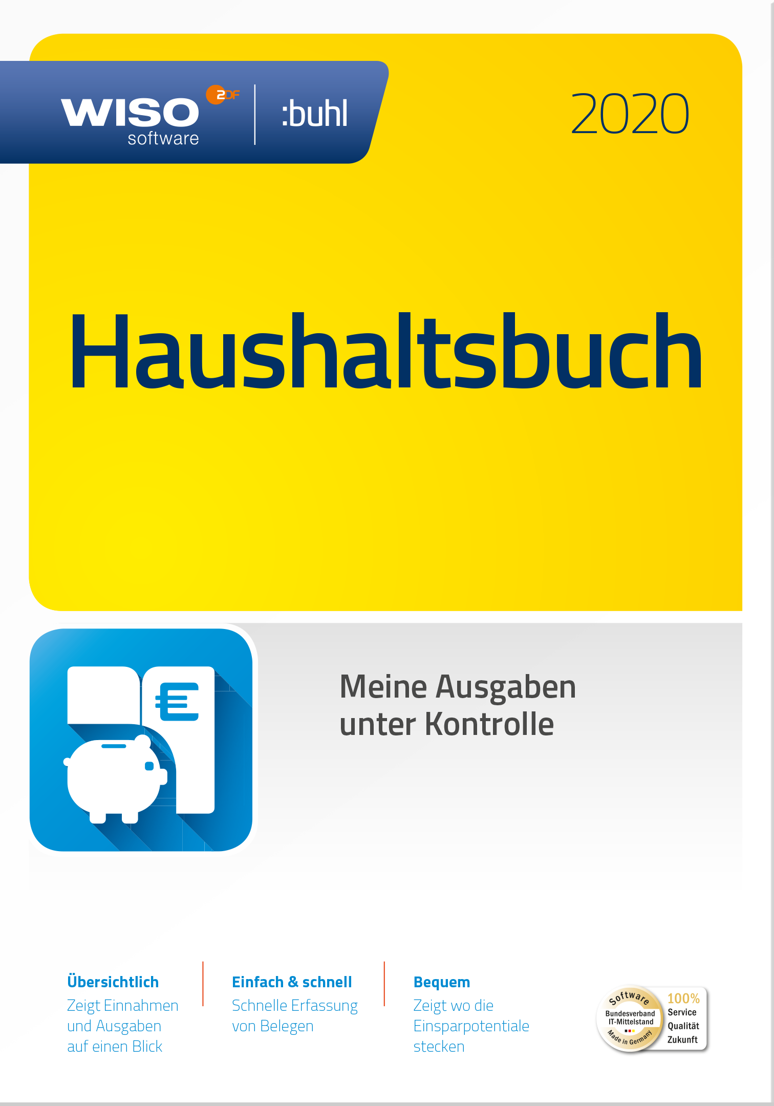 Buhl Data WISO Haushaltsbuch 2020 (PC, Win)