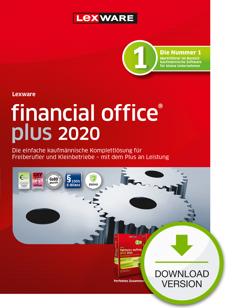 Lexware financial office plus 2020 Dokument zum Download