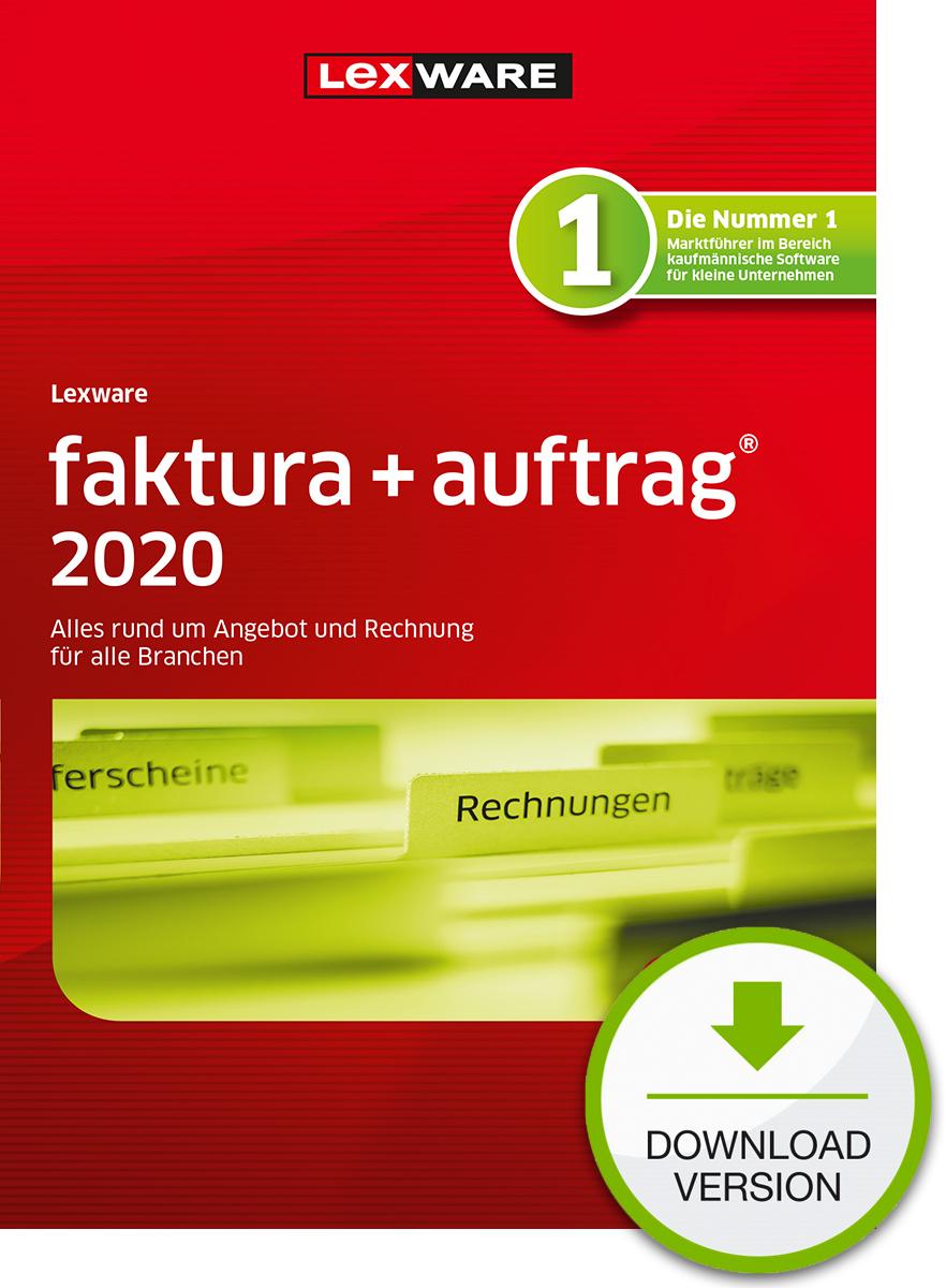 Lexware faktura+auftrag 2020 Dokument zum Download