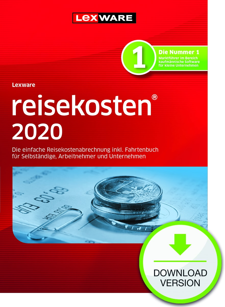 Lexware reisekosten 2020 Dokument zum Download