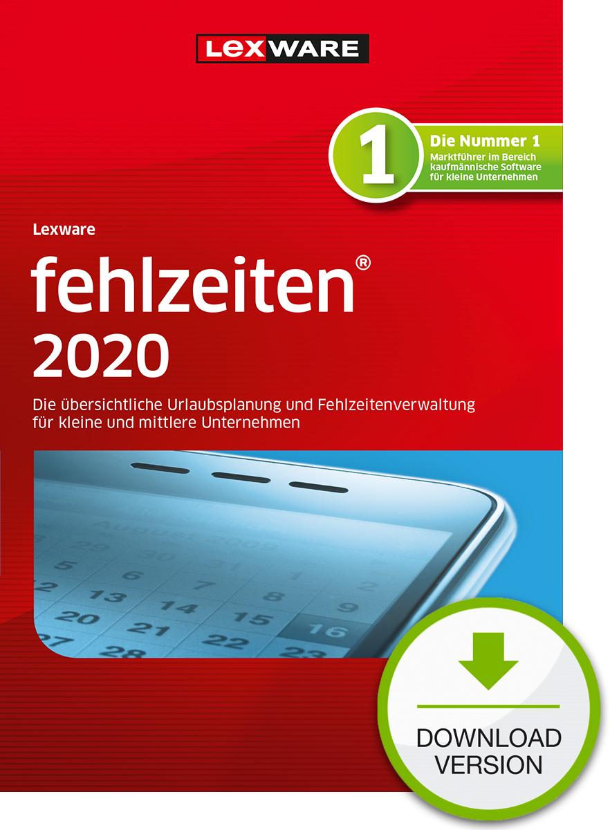Lexware fehlzeiten 2020 Dokument zum Download
