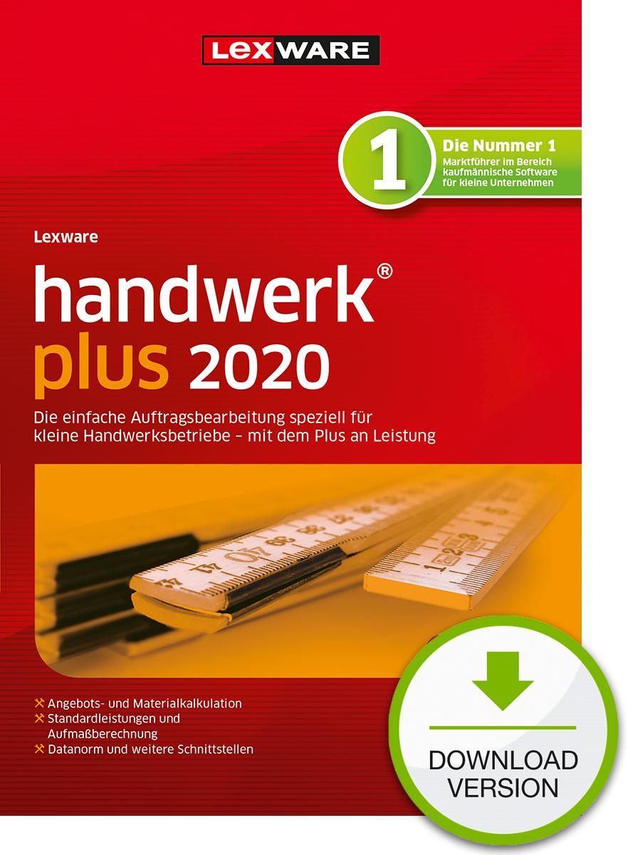 Lexware handwerk plus 2021 - Abo Version Dokument zum Download