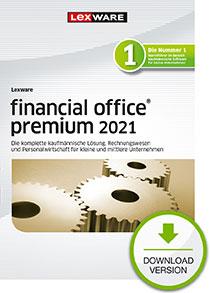Lexware financial office premium 2021 - Abo Version Dokument zum Download