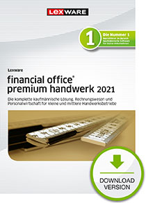 Lexware financial office premium handwerk 2021 - Abo Version Dokument zum Download