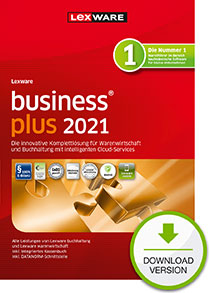 Lexware business plus 2021 - Abo Version Dokument zum Download