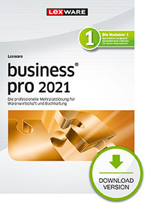 Lexware business pro 2021 - Abo Version Dokument zum Download