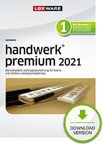Lexware handwerk premium 2021 - Abo Version Dokument zum Download