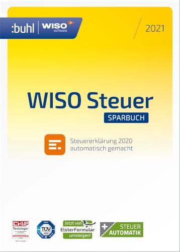 Jetzt WISO Steuer-Sparbuch 2021 günstig kaufen