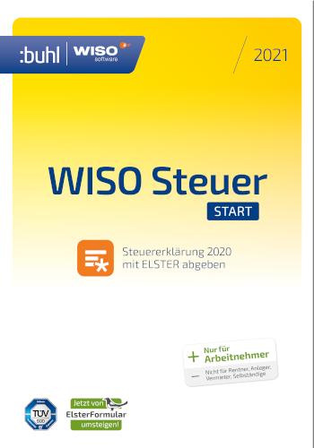 Jetzt zuschlagen: WISO steuer:Start 2021 günstig bestellen