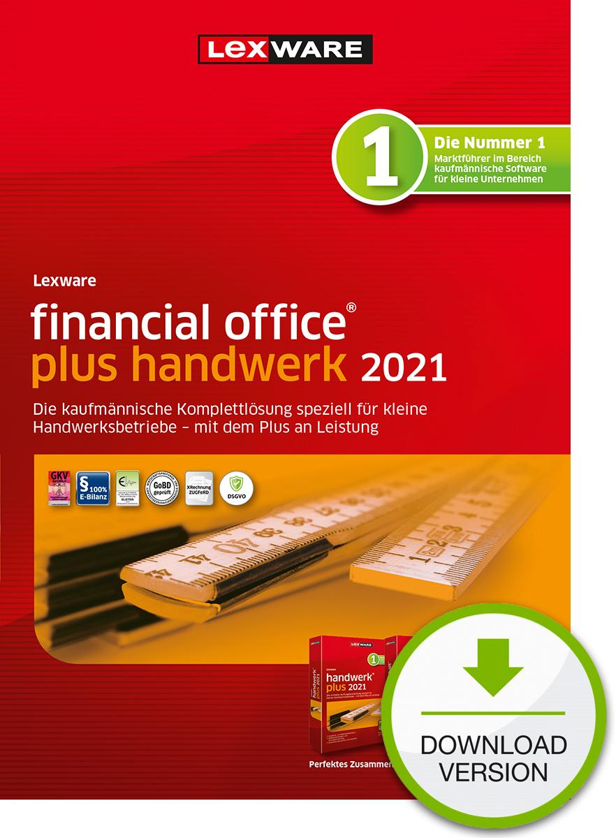Lexware financial office plus handwerk 2021 - Abo Version Dokument zum Download