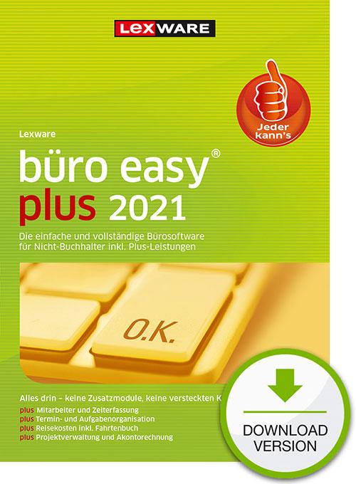 Lexware büro easy plus 2021 - Abo Version Dokument zum Download