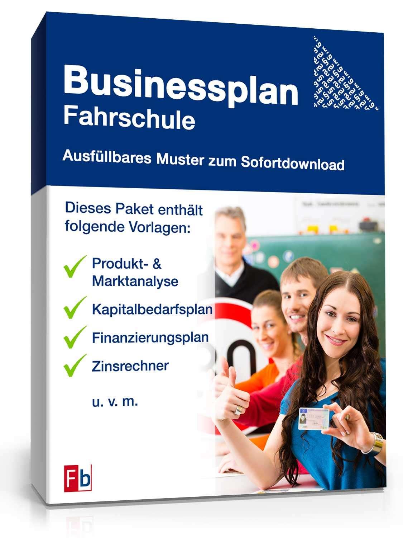 Beispiel Existenzgründung Fahrschule inkl Businessplan Vorlage