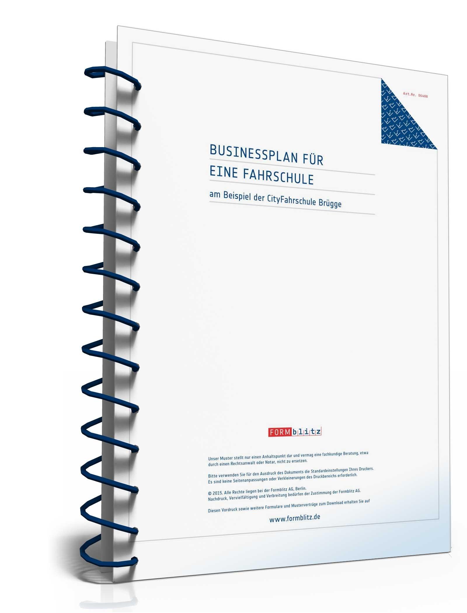 businessplan fahrschule