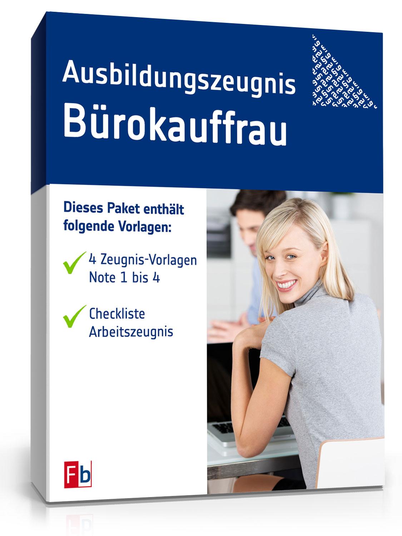 Ausbildungszeugnis Bürokauffrau Muster Zum Download