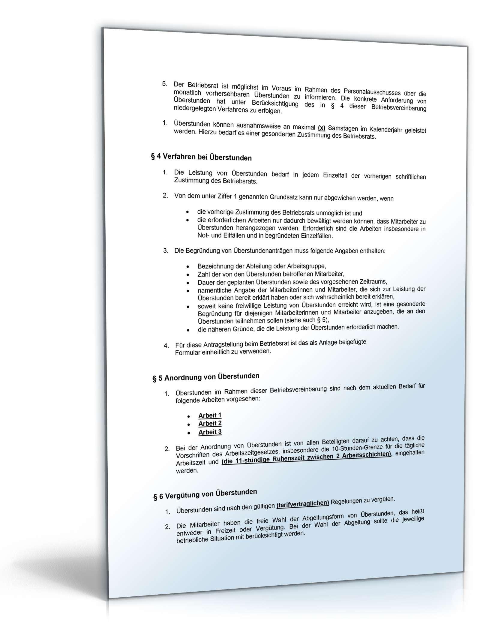 Schön Voraus Richtlinie Formular Ideen - Bilder für das Lebenslauf ...