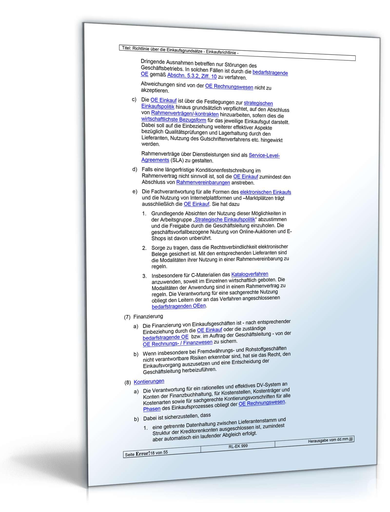 Tolle Richtlinien Und Verfahren Vorlage Zeitgenössisch - Beispiel ...