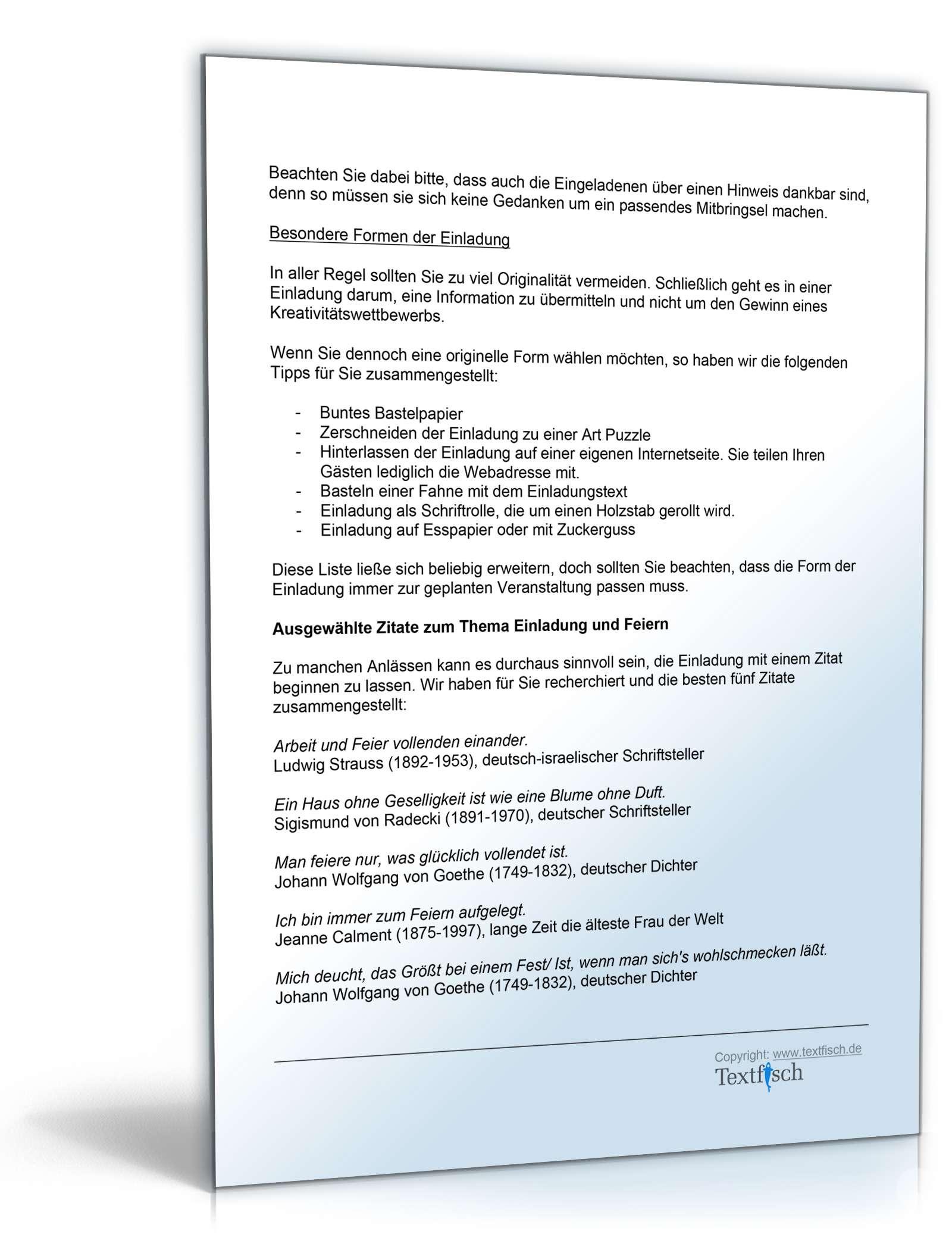 einladung zur konfirmation - muster zum download, Einladungen