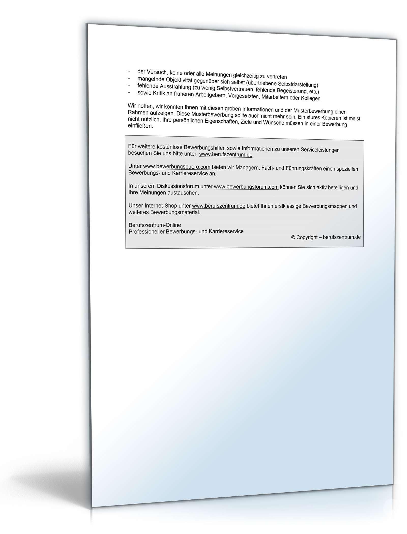 Charmant Chemie Lebenslauf Probe Galerie - Beispielzusammenfassung ...