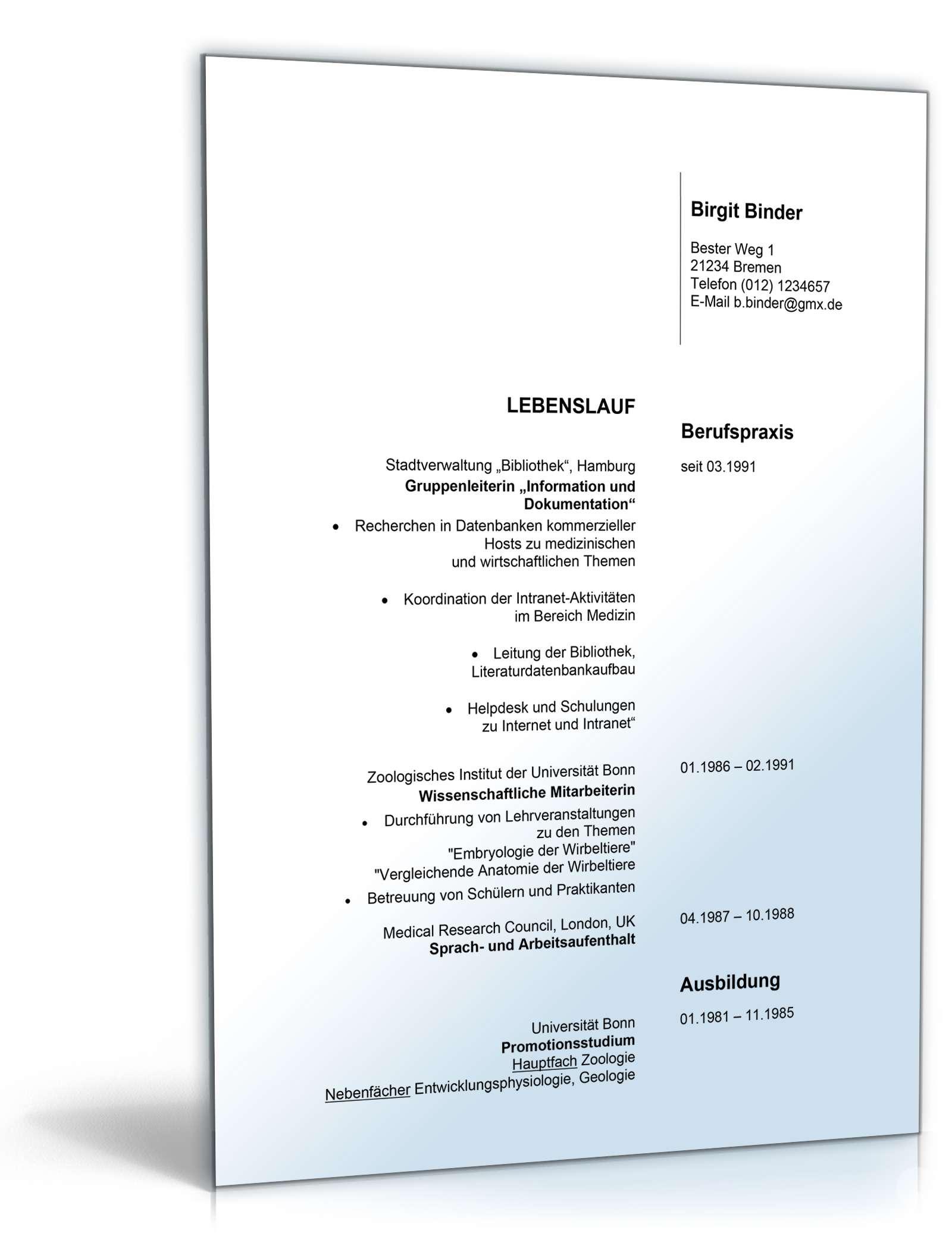bewerbungs-paket pharmareferent | muster zum download, Einladung