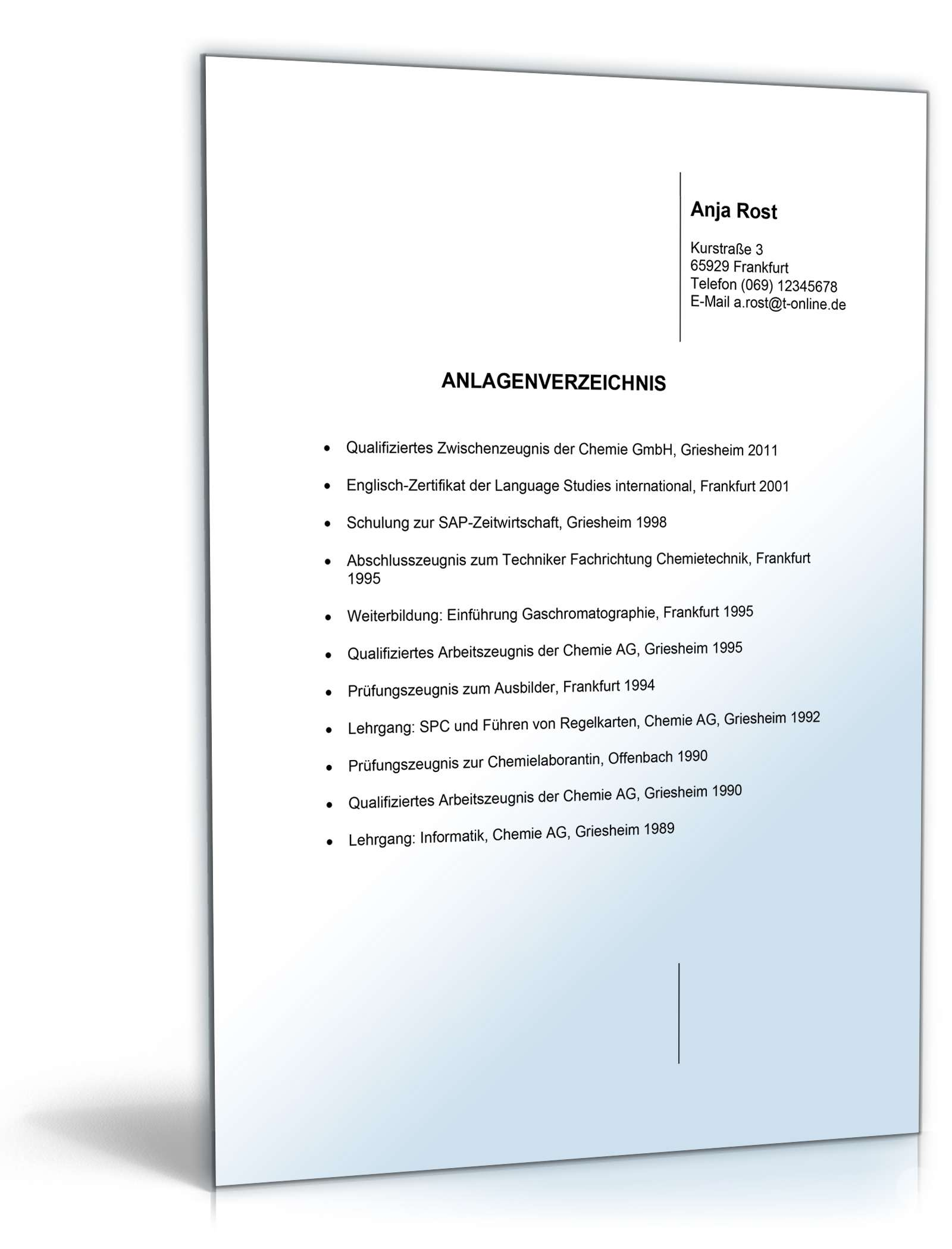 Bewerbungs-Paket Qualitätsmanager | Muster zum Download