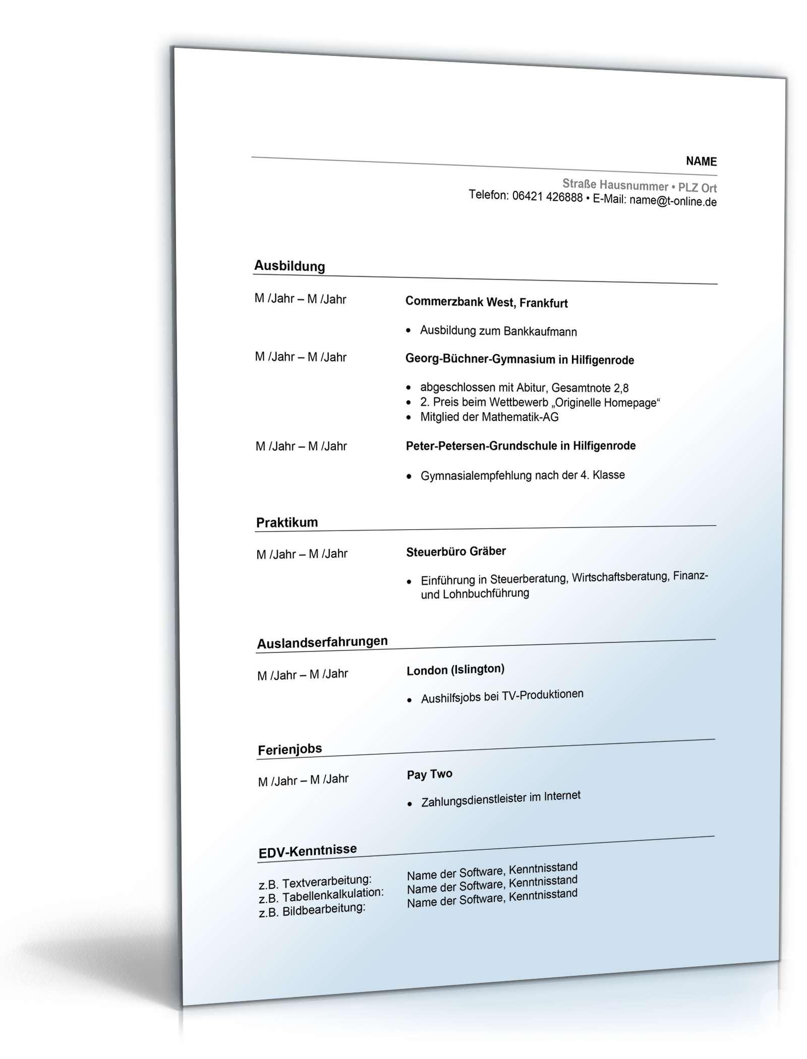 Schön Lebenslauf Brief Der Einführung Ideen Entry Level Resume