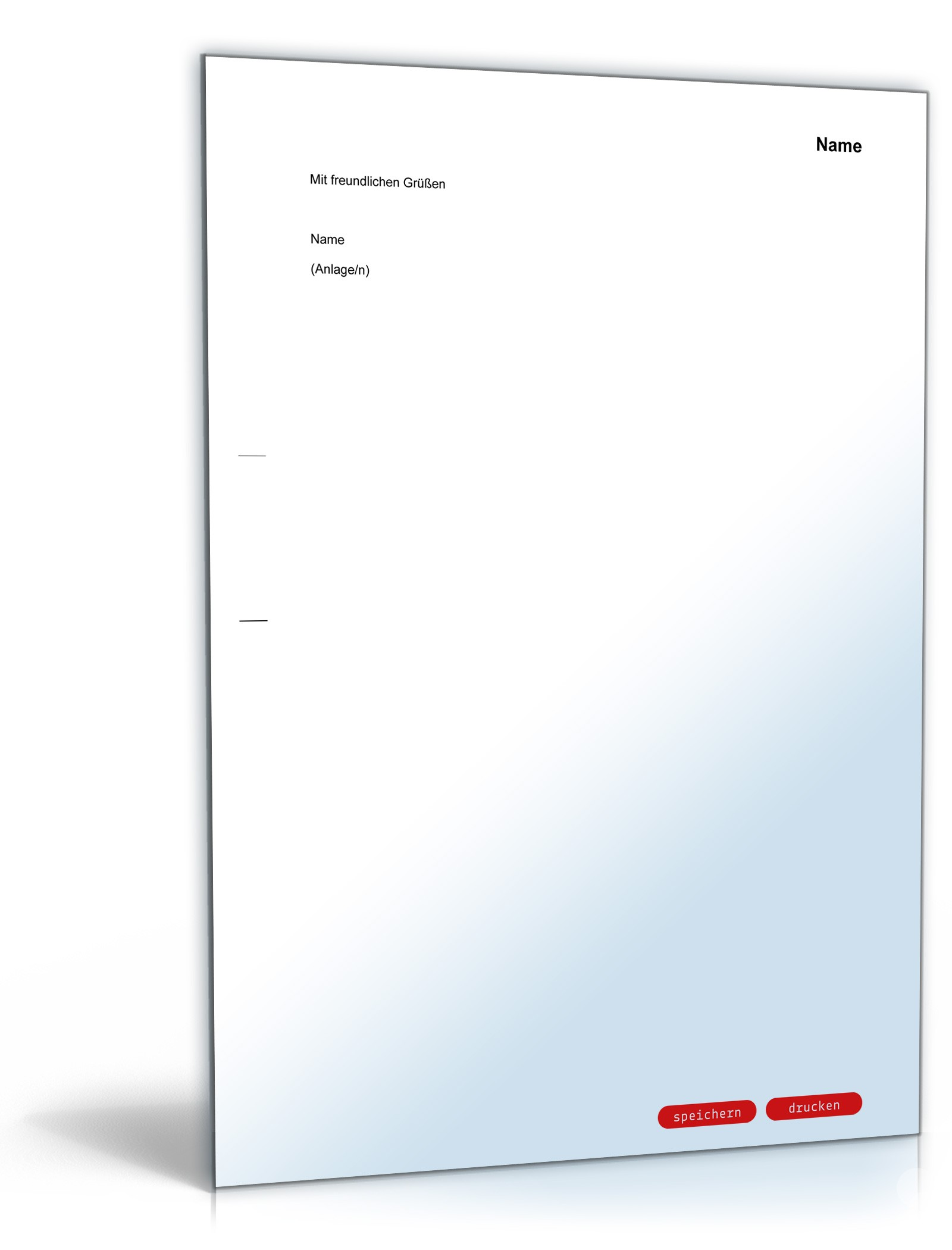 Vergleichsangebot an privaten Gläubiger | Muster zum Download