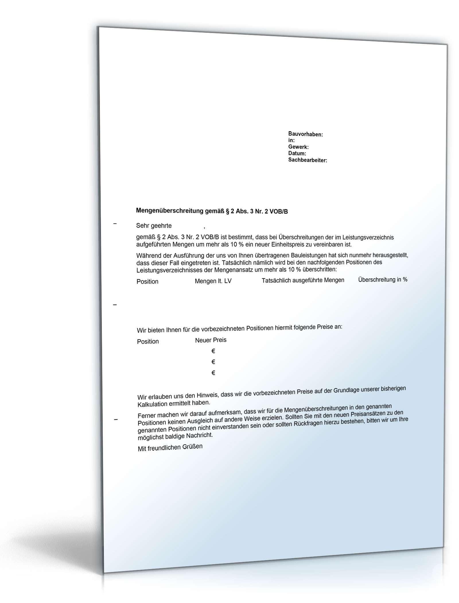 Preisanpassung Bei Mengenuberschreitung Sofort Download 5