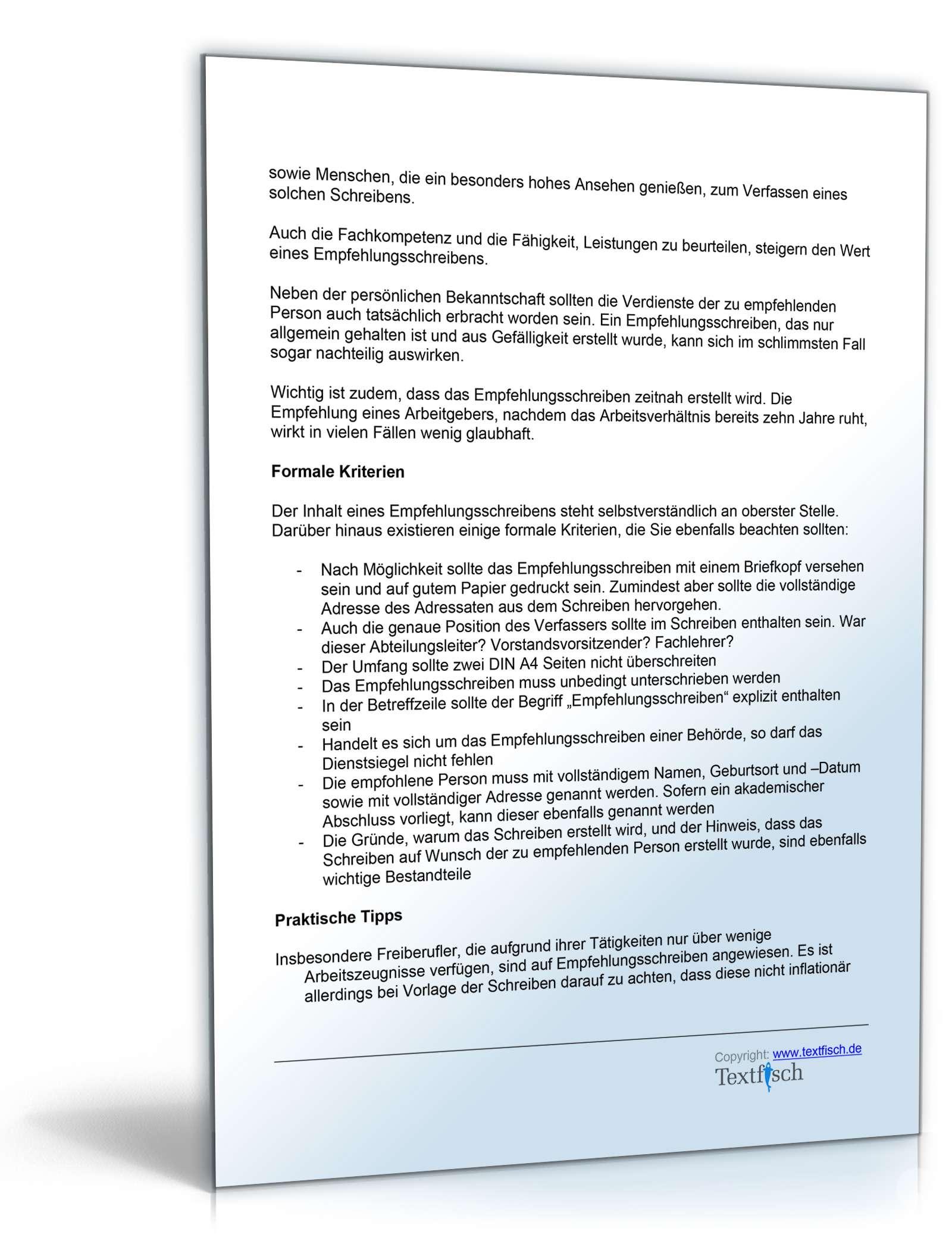 Gemütlich Format Referenzschreiben Galerie - FORTSETZUNG ...