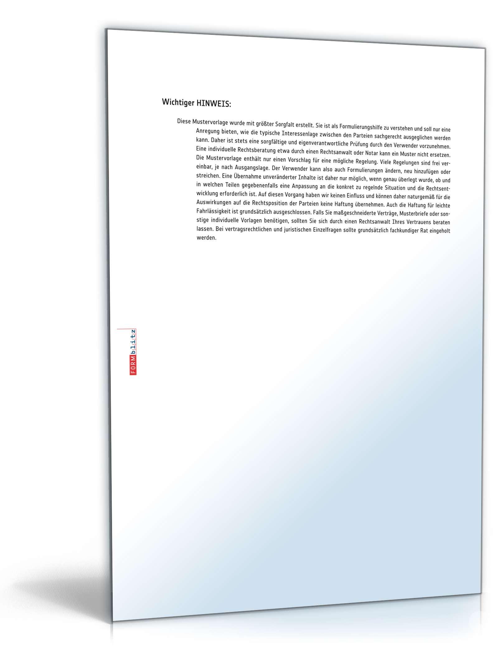 Abmahnung Arbeitsverweigerung Muster Zum Download