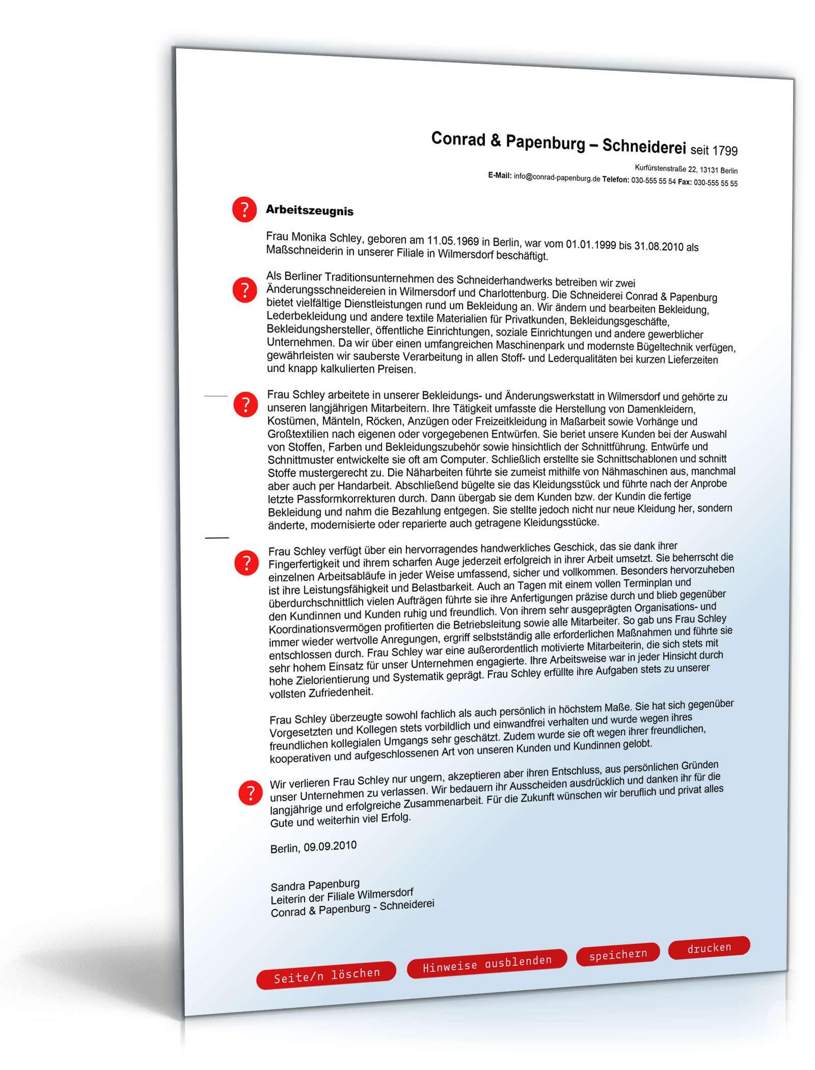 Arbeitszeugnis Muster Vorlagen Schweiz Kostenlos Downloaden 1