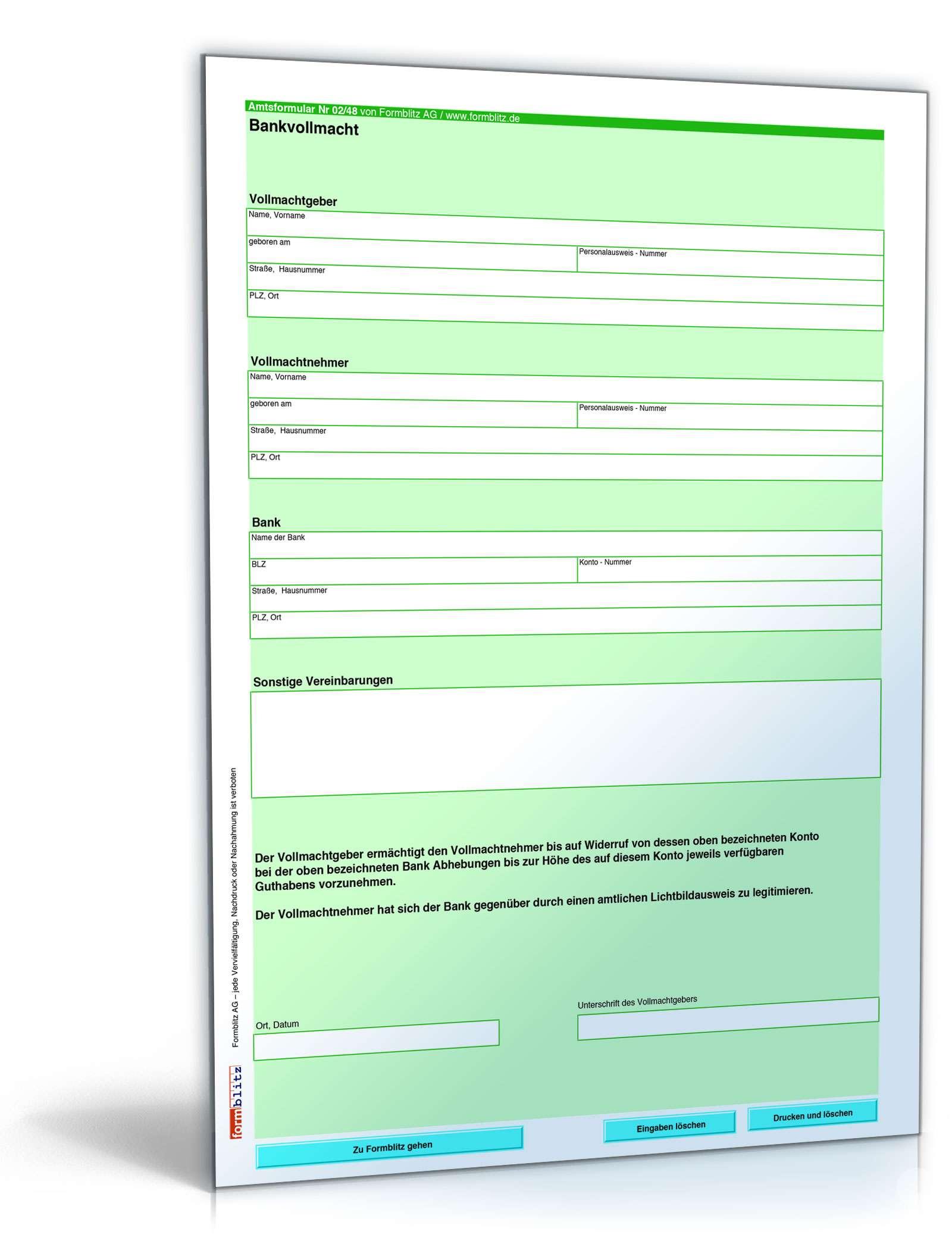 Erfreut Bankeinzahlungsformular Vorlage Bilder - Beispiel ...