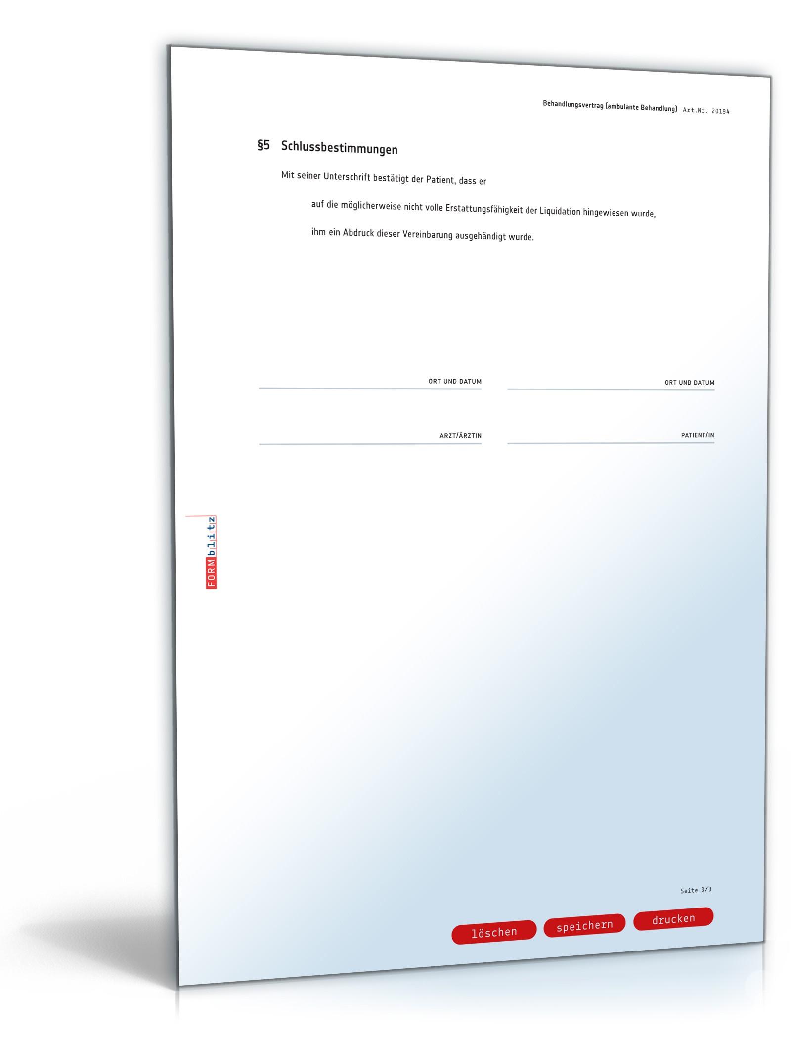pdf seite 3 - Behandlungsvertrag Muster