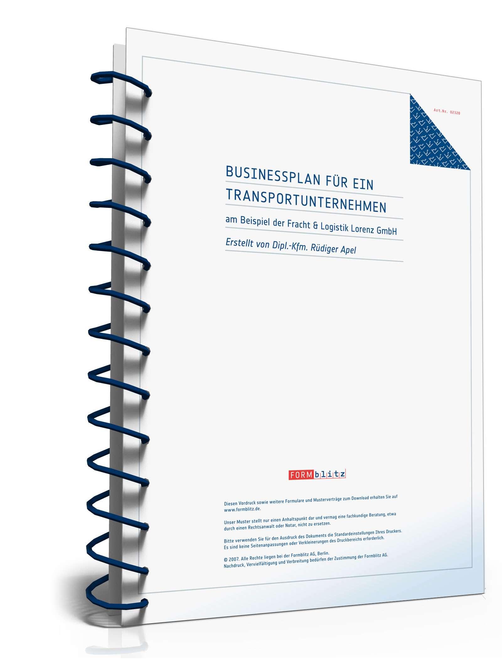 zip seite 1 - Businessplan Muster Kostenlos