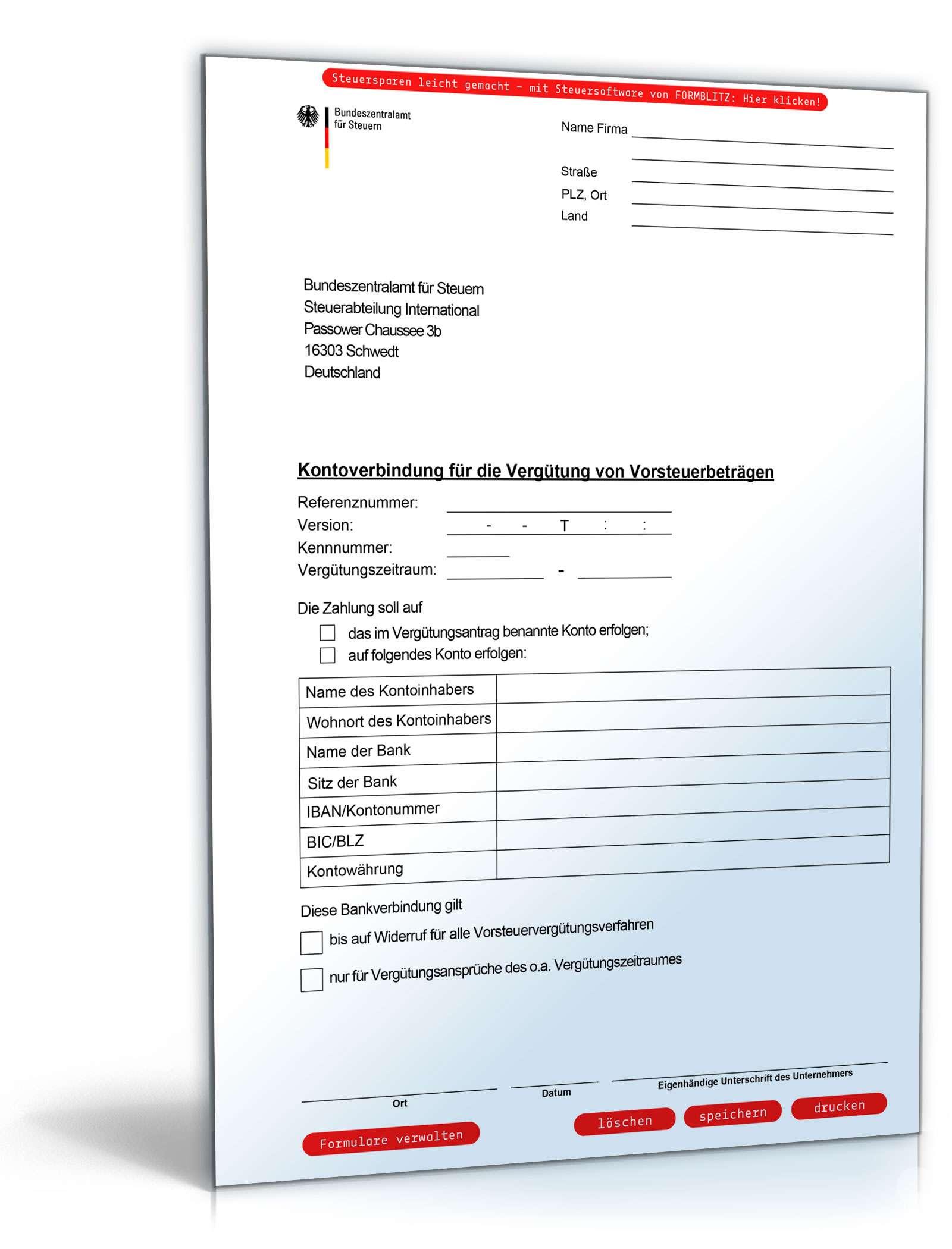 Geldempfangsvollmacht Formular Zum Download Als Pdf